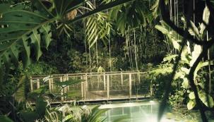 Skleník Fata Morgana v Botanické zahradě Praha je v noci plný vůní a zvuků.