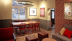 Nová kavárna v designu Metropolitan