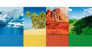 Oblíbené odstíny Ceresit Colours of Nature přinesly s letošním jarem inovovanou paletu barev na kolorování tenkovrstvých omítek a nátěrů.