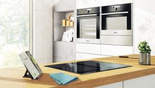 Indukční deska Advanced, vyrábí Gorenje, 4 varné zóny 20 x 20cm, ovládání tahem prstu, www.gorenje.cz