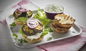 Lilkový burger s Tzatziki