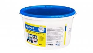AirMal splňuje přesně to, co desky potřebují: je velmi prodyšný - sněhobílý - vysoce kryvý - otěruvzdorný – tónovatelný.