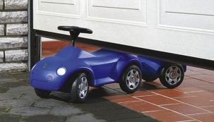 Automatické vypnutí pohonu vrat při najetí na překážku (HÖRMANN)