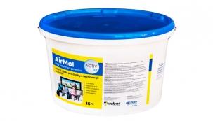 Společnost Rigips přichází s novým vnitřním nátěrem pro sádrokartonové desky s technologií Activ'Air s názvem AirMal.