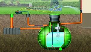 Co je potřeba vědět před nákupem nádrže na dešťovou vodu a jak vybrat tu vhodnou pro váš dům či pozemek se dozvíte na veletrhu FOR ARCH 2016. (Nicoll)