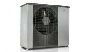 Tepelné čerpadlo systému vzduch-voda NIBE F2120 (energetická třída A+++, SCOP až 5,1)