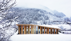 Základní tábor Mont-Blanc, kancelářské prostory, les Houches, 2012–2016 (c) Michel Denance