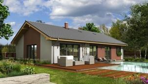 Domy oceněné v akci Isover50: Novostavba rodinného domu v Oticích