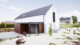 Dům ze stavebního systému SENDWIX se střešní krytinou KM BETA, autor: Marketa Cerna (Zdroj: KM Beta)