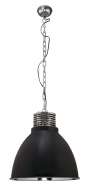 V jeho stylu: Industriální závěsné svítidlo zřady Casque, kov, 44 x 44cm, výška 47cm, délka kabelu 75cm, www.butlers.cz