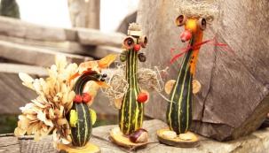 Nadcházející víkendová odpoledne budou v Botanické zahradě v pražské Troji věnována Dýňový hrátkám.