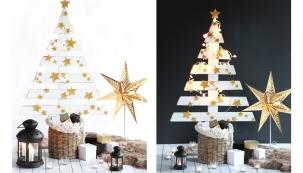 Zhotovte si pohádkový vánoční stromeček. Nezabere moc místa abezpochyby rozzáří dětský pokojík. Montáž není nijak složitá anavíc zužitkujete například starou, nepotřebnou dřevěnou paletu.