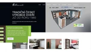 Společnost Masonite CZ spol. s r.o., největší výrobce dveří v České republice, otevírá stavební sezónu s online konfigurátorem dveří a novými webovými stránkami www.masonite.cz.