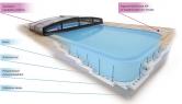 havou novinkou firmy Albixon je spojení bazénů ALBISTONE® asystému polystyrenového ztraceného bednění, které využívá potenciálu obou materiálů jako celku.