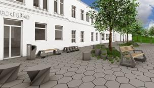 Společnost PRESBETON pro letošní sezónu přichází s velice zajímavou novinkou z oblasti betonových dlažeb a městského mobiliáře. Design jednotlivých prvků navrženého mobiliáře je inspirován bionickými příklady z živočišné říše. Jako přímá inspirace pro návrh dlažebního systému posloužily čedičové sloupcové útvary, které krystalizují do šestiúhelníkových forem.