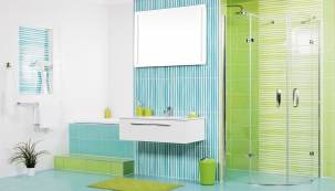 Pečlivě uvážený výběr a rozložení zařizovacích předmětů v koupelně dokáže i na relativně malém prostoru vykouzlit velký uživatelský komfort  (SIKO)