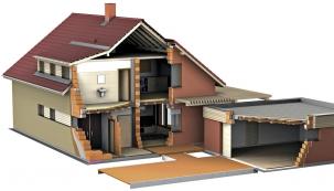Správná volba zdiva na konkrétní stavbu je rozhodující pro kvalitu stavby. Moderní cihlářské výrobky umožňují postavit celý dům z jednovrstvého zdiva  (Wienerberger)
