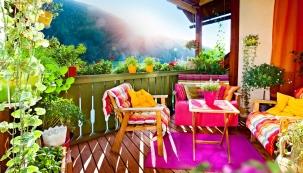 Ranní kávu, odpolední siestu či podvečerní skleničku nabalkoně, lodžii nebo terase si můžete vychutnávat vpěkném počasí každý den. Tamtéž si můžete vypěstovat zeleň nejen pro potěšení oka, ale ipro užitek…