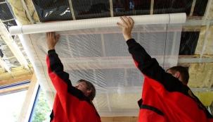 Instalace elektrické topné folie ECOFILM (Fenix)