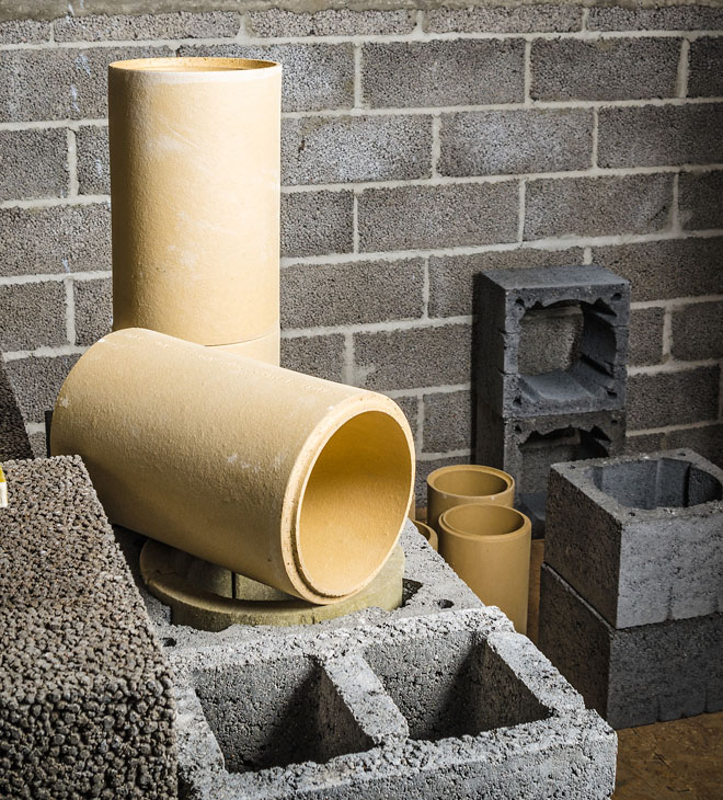 Komínová sestava je sice relativně jednoduchou stavebnicí, řídí se však přísnými pravidly.