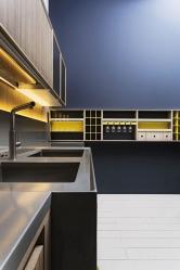 Osvětlení schované zaobkladem kuchyně Lignum (www.comprex.it)