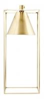 4. Kovová lampa Kubix Brass, výška 42 cm, House Doctor, www.nordicday.cz