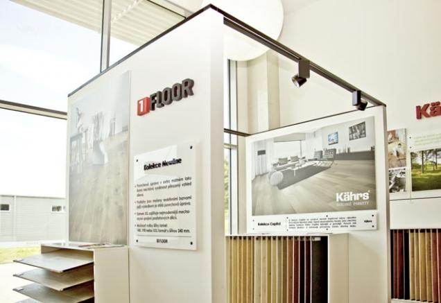 Nový showroom KPP v Čestlicích nabízí nejen podlahy, ale celý interiér (Zdroj: KPP, www.kpp.cz)