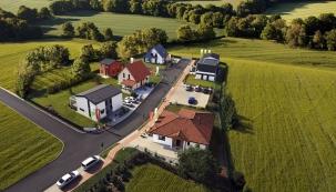 V Centru vzorových domů v Nehvizdech u Prahy najdete v první etapě výstavby sedm volně přístupných domů od největšího dodavatele domů v ČR společnosti CANABA.