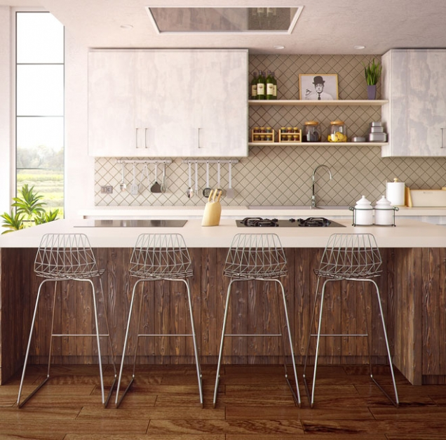 Ořechové dřevo láká na svůj krásný, jemně nafialovělý odstín, který dodá každému interiéru pořádný luxus. Jenže tomu také odpovídají ceny a proto si nábytek či podlahu z ořechového dřeva může dovolit málokdo. Naštěstí se ořechového vzhledu dá dosáhnout i jiným, levnějším způsobem. Totiž čpavkováním.