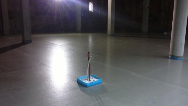 Cemflow - obchodní prostor (Foto: Českomoravský beton)