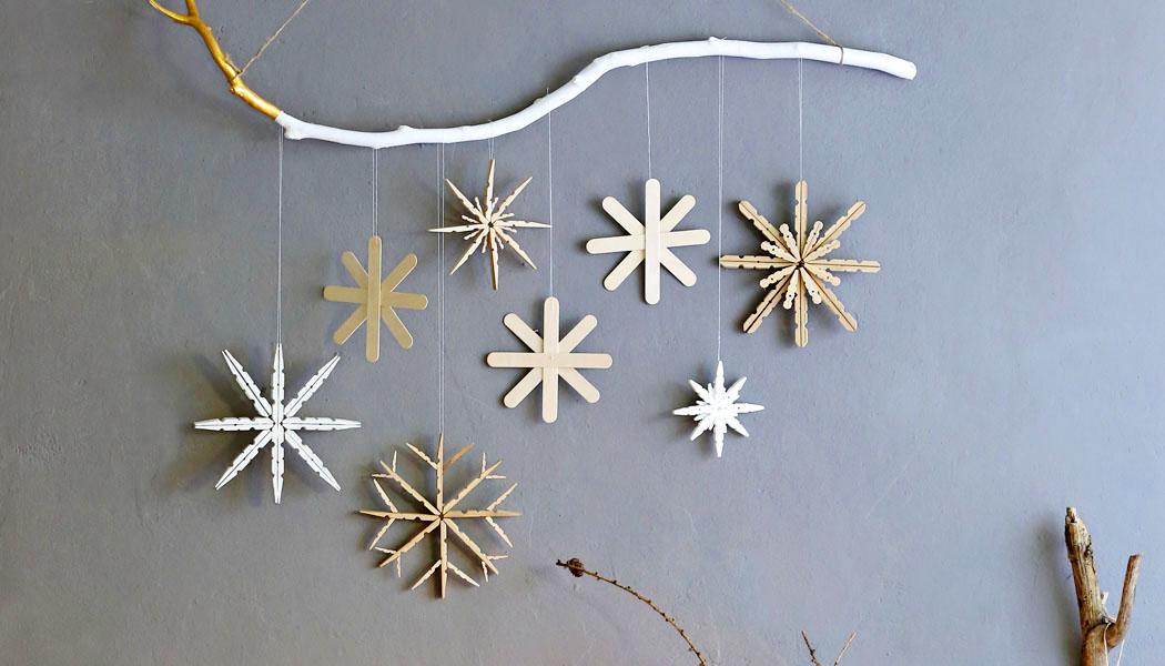 Vánoční dekorace: Vločky, které nestudí