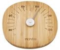 Teploměr do sauny Rento, materiál bambus, www.rentosauna.cz