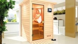 Investovat do vlastního zdraví se vyplatí. Pokud si tělo žádá pravidelnou dávku tepla a uvolnění od každodenního stresu, poslechněte ho. Blahodárné účinky saun si dnes už můžete užít i v pohodlí domova. Na trhu jsou v různých velikostech i cenových provedení a můžou být vhodným doplňkem každého interiéru. (HORNBACH)