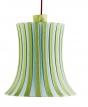 1. Stínidlo Ämtevik na závěsnou nebo stojací lampu, akryl a práškovaná ocel, Ø 37cm, výška 37cm, Ikea, www.ikea.cz