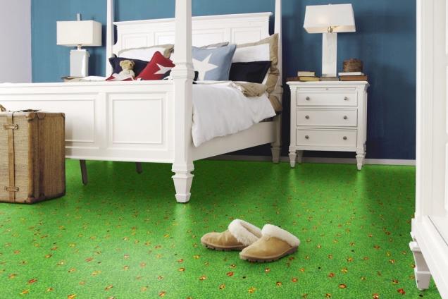 Ekologická elastická podlaha Wineo PURLINE, kolekce Artist, dekor Happy Animals (Zdroj: KPP.cz)