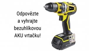 Ve spolupráci se společností AutoKelly jsme pro vás připravili jednoduchou soutěž o AKU vrtačku Starline 18 V.