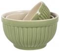 V jejich stylu: Keramická miska Mynte Applegreen značky Ib Laursen se prodává vetřech velikostech, cena od89Kč, www.bellarose.cz