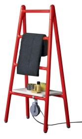 Elektrický topný žebřík Scaletta (Tubes) je vhodný na sušení ručníků, rozměry 139×48cm; www.staspo.cz