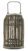 V jejím stylu: Ratanová lucerna Ova se skleněným chráničem, značka House Doctor, 20 x 32cm, cena 1060Kč, www.coclea.cz