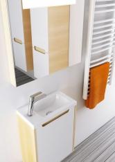 Umývátko Classic 400 (šířka 400mm) je ideální na WC nebo do miniaturní koupelny (Ravak)