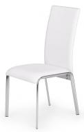 V jejich stylu: Jídelní židle K135 má chromovanou konstrukci ačalounění zeko kůže, cena 1056Kč, www.jena-nabytek.cz