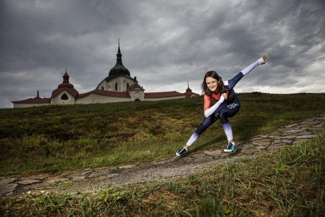 Martina Sáblíková finišuje stavbu rodinného domu (Zdroj: Bramac)