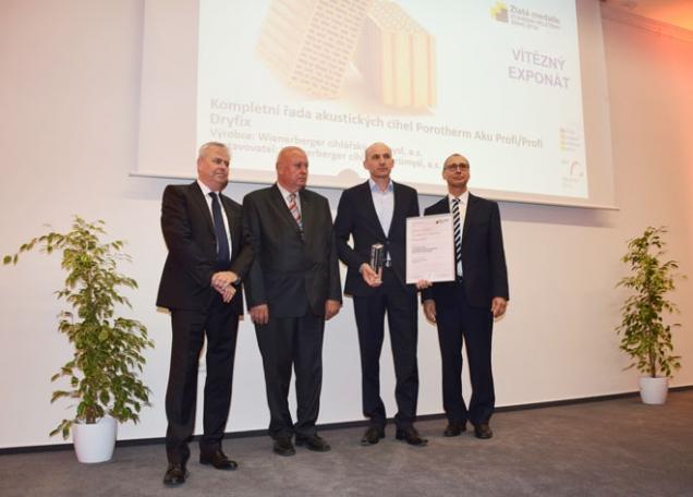 Slavnostní předání ocenění Zlatá medaile (Zdroj: WCP)