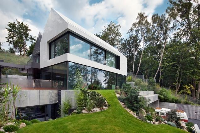 Rezidence nad mořským zálivem (Foto: Arch-Deco - Polsko, Andrezej Łopata, Zdroj: Schüco)
