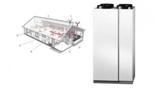 Společnost NIBE Energy Systems CZ, výhradní dodavatel švédských tepelných čerpadel NIBE do Česka a na Slovensko, přichází s vysoce efektivní rekuperační jednotkou NIBE ERS 10-400, která nabízí kompletní řešení mechanické ventilace s 92% účinností zpětného získávání tepla. Toto environmentálně šetrné zařízení v energetické třídě A tak přispívá k snížení energetické náročnosti objektu a vytváří zdravé a kvalitní vnitřní prostředí se stabilní teplotou a vlhkostí.