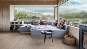 Dřevěná podlaha Kährs, kolekce Lux, dekor Dub Shore (Zdroj: KPP)