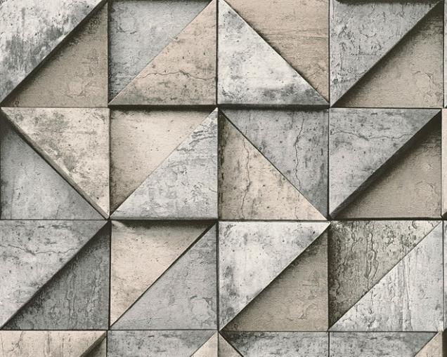 2. Vliesová 3D tapeta z kolekce Daniel Hechter 4, rozměr role 0,53 x 10,05m, A. S. Création, cena 580Kč, www.dimex-tapety.cz