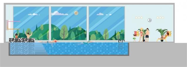Snad všichni při plánování interiérového bazénu věnují poměrně dost času samotnému bazénu. Převážně se soustředí na tvar a materiál bazénové vany. Samozřejmostí je také již v samotném počátku plánů přemýšlet nad technologií čištění vody. Nezapomínáme ani na styl a zpracování interiéru. Co se stále ještě často stává kamenem úrazu, je řešení péče o klima. (Zdroj: OKvzduch.cz)