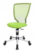 Židle Titan Junior, nosnost 60kg, vysoké, anatomicky tvarované opěradlo pro kvalitní oporu zad, nastavitelná výška, kovové nohy, všesti barvách, cena 4610Kč, www.egazel.cz