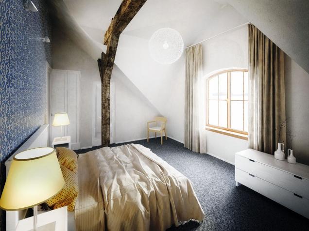Pokoje v Nebespánu jsou do detailů sladěné a působí domácky a útulně. Mohou vám poskytnout inspiraci i pro styl vašeho domova.